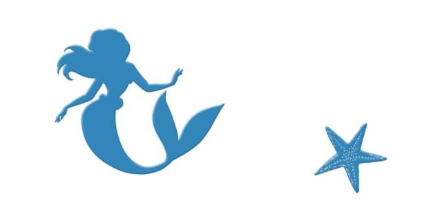 小美人魚磁磚,迪士尼磁磚,disney tile,卡通磁磚,The Little Mermaid,適合幼稚園,兒童活動中心使用。
