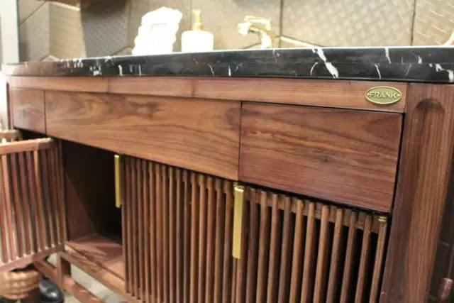 富蘭克衛浴的新中式浴室櫃