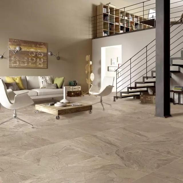 通體大理石磚一石N面,質感厚重,特別適合空間較大的住宅或高檔商用空間,依諾通體大理石瓷磚已應用在別墅、高端酒店、餐廳、會所等高端場所。
