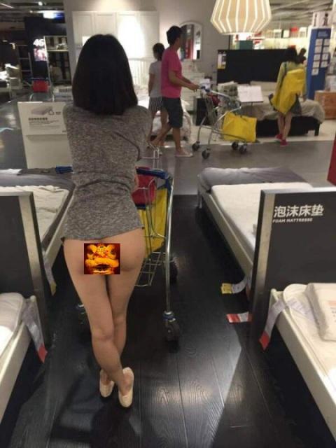 哇,宜家家俬爆出有女顾客拍裸照。哼,简直世风日下。宜家家俬, ikea, 裸照, nude photographs, 香港家俬