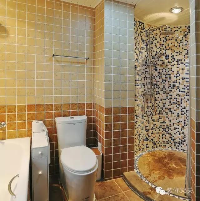 有一部分戶型可能需要特別的圓形淋浴房