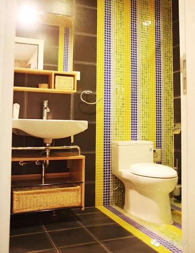 黃色馬賽克mosaic比較明亮,但是不好搭配