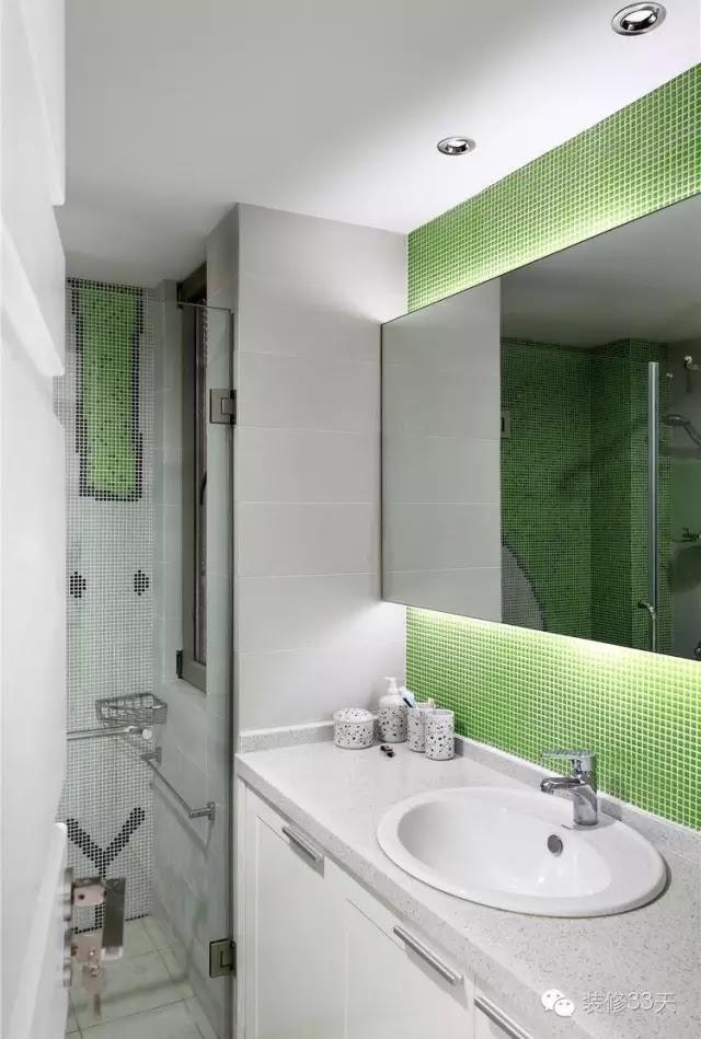 綠色可以塑造清新的感覺