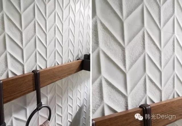 Porcelanosa(寶路莎瓷磚)公司設計的Dover Spiga Caliza瓷磚