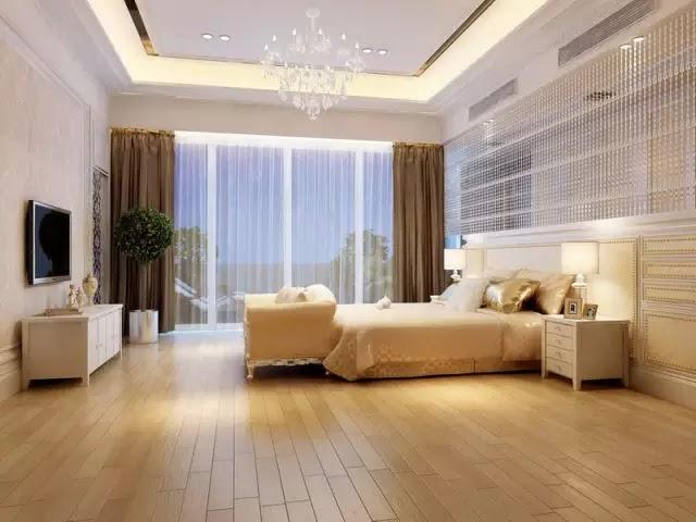 黃色系木紋的應用大概是最寬泛的,樸實中帶點明媚,大大提升休息空間的愉悅感