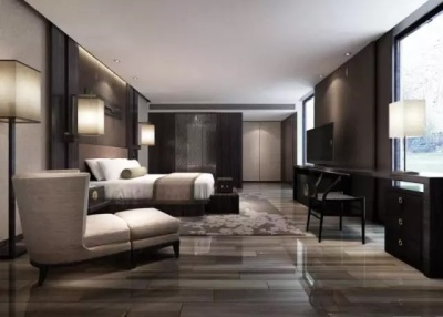 亮面系木紋 別具時尚感 經過拋光處理的木紋磚褪去暗啞質感,相比傳統木紋磚更有時尚感